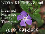 Nora Klemenz, Licensed Marriage Family Therapist